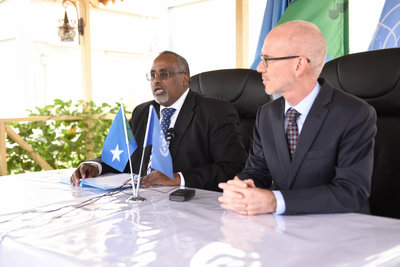 On Hirshabelle visit, UN envoy to Somalia discusses state