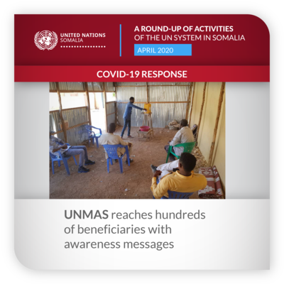 ROUNDUP UNMAS APRIL 2020