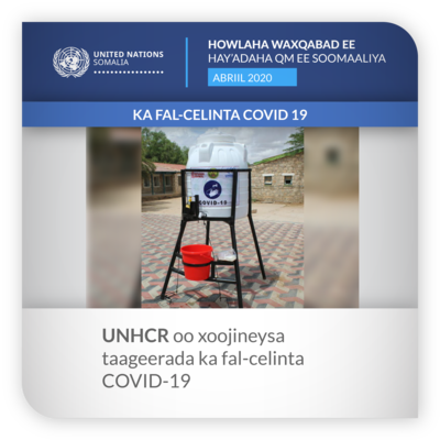 ROUNDUP UNHCR APRIL 2020 SOM