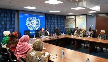 UN's top political official visits Somalia, discusses priority issues with Government and civil society