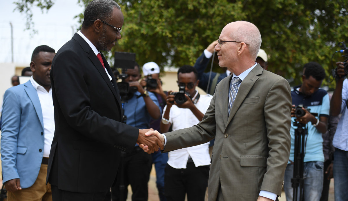 "UN envoy to Somalia flags need for ""good relations"" between federal member states and federal government"