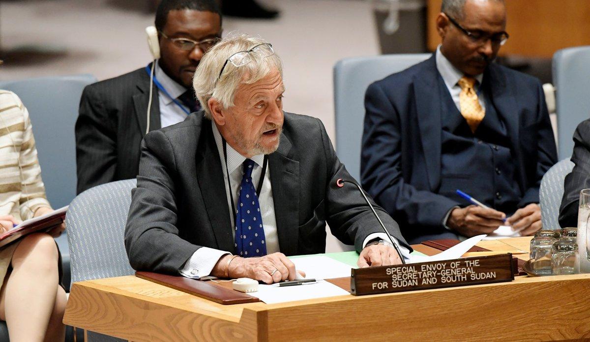 UN Secretary-General appoints Nicholas Haysom of South