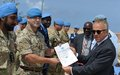 Uniformed UN personnel honored for distinguished service