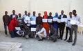 UNSOM hosts training workshop for journalists on election reporting in Kismaayo