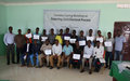 Hiiraan journalists conclude training on reporting of the 2016 electoral process