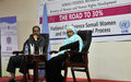 President Hassan Sheikh Mohamud urges women to shape the country's destiny