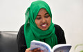 Najah Aden Farah: A young author determined to create a reading culture in Somalia