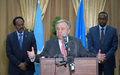 UN Secretary General's message on the International Day of UN Peacekeepers