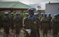 UN Guard Unit members complete one-year tour of duty in Somalia