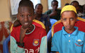 Somali children attend celebrations to mark the Day of the African Child