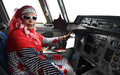 Somalia's first female pilot returns home and pledges support to the country's women and youth