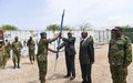 New commander and contingent of UN Guard Unit soldiers assume duties in Somalia