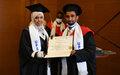 At Mogadishu Graduation, University of Peace Students Encouraged to Contribute to Somalia's Peacebuilding