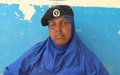 Police officer Amino Ali Hiirey champions women and girls' rights