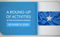A Round-Up of Activities of the UN System In Somalia In March 2020