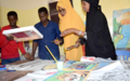 One brush stroke at a time: Vibrant Puntland artist guides young talents