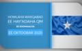 HOWLAHA WAXQABAD EE HAY-ADAHA QM EE SOOMAALIYA EE OKTOOBAR 2020
