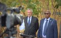 In Galkayo, UN envoy urges regional leaders to continue political dialogue and collaboration