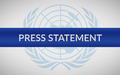 Statement by the Deputy Special Representative of the UN Secretary-General, Resident and Humanitarian Coordinator for Somalia, Mr. Adam Abdelmoula, on the Crash of Plane Carrying Humanitarian Cargo