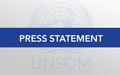 SRSG Keating condemns suicide bombing in Gaalkacyo and shooting in Mogadishu