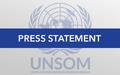 UN Special Representative of the Secretary-General for Somalia statement on Mogadishu UN attack