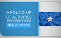 A Round-up of Activities of the UN System in Somalia in August 2020