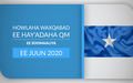 A Round-up of Activities of the UN System in Somalia in June 2020