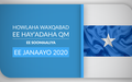 HOWLAHA WAXQABAD EE HAY'ADAHA QM EE SOOMAALIYA  EE JANAAYO 2020