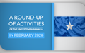 A Round-Up of Activities of the UN System in Somalia in February 2020