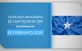 HOWLAHA WAXQABAD EE HAY'ADAHA QM EE SOOMAALIYA  EE FEBRAAYO 2020