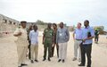 UNSOM corrections sector visits Mogadishu central prison and discusses upcoming projects